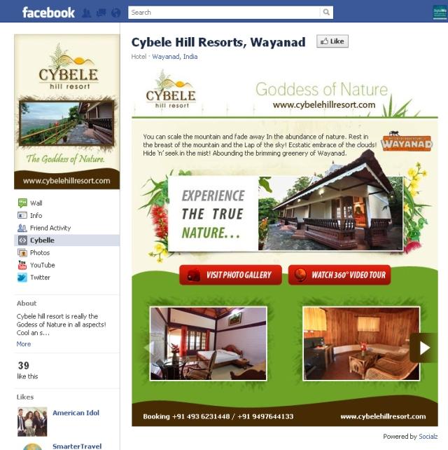 Creative FBML Custom Fan page landing tab